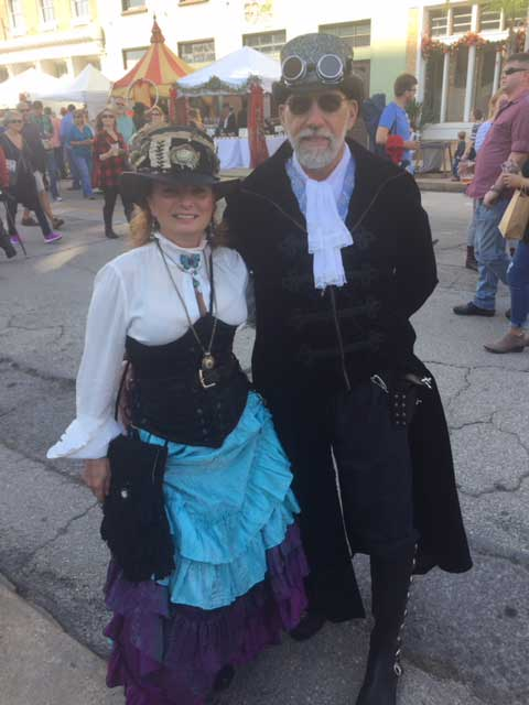 Customer photos wearing Best Dressed at the Fair