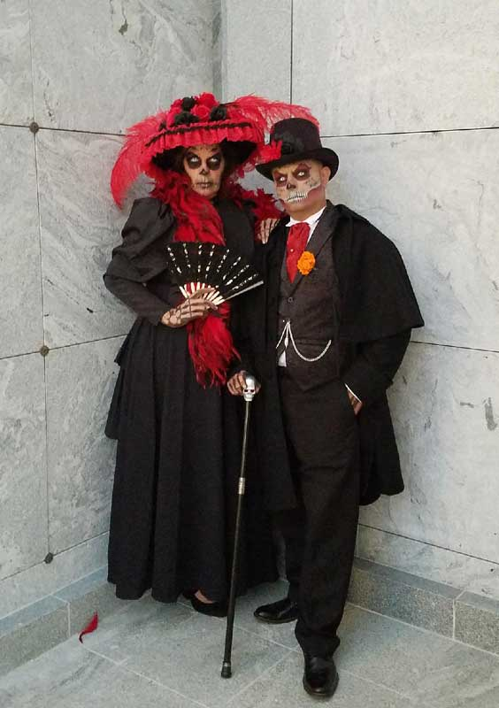 Customer photos wearing [Editors Pick] Day of the Dead