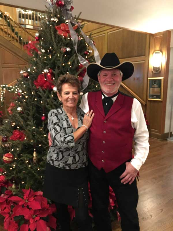 Customer photos wearing Cowboy Christmas