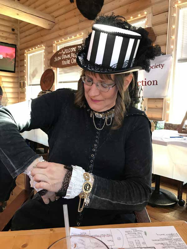 Customer photos wearing Coloradans Can Steampunk It Up!