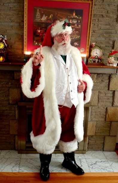 Customer photos wearing Santa Knows All