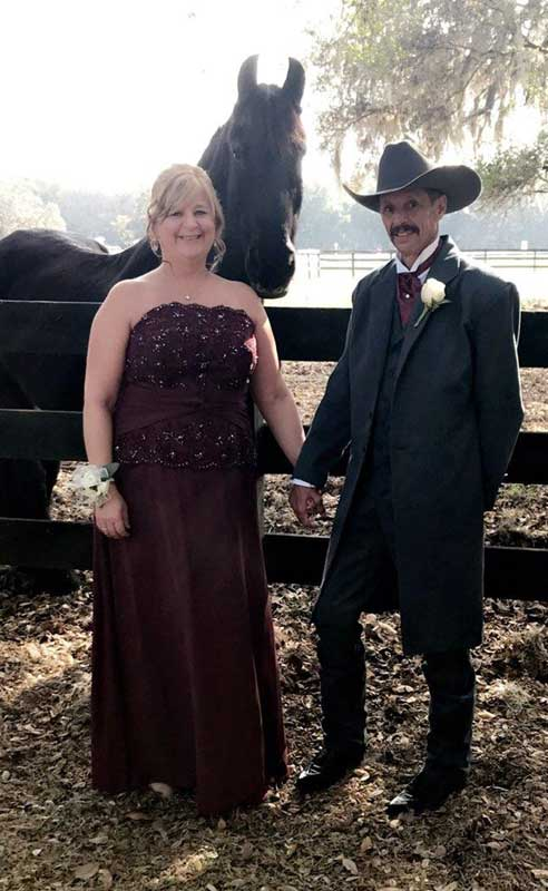 Customer photos wearing [Editors Pick] A Cowboy, his wife, and his horse