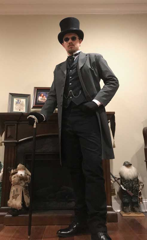 Customer photos wearing Perfect New Suit