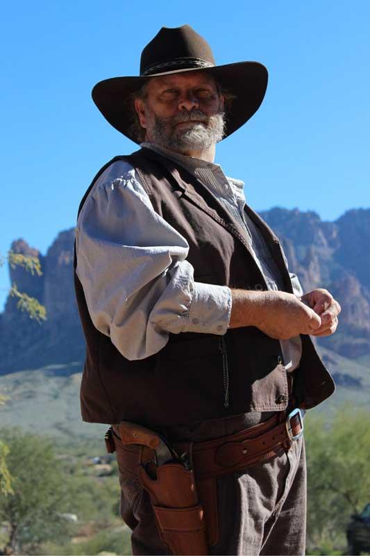 Customer photos wearing A True Western Man