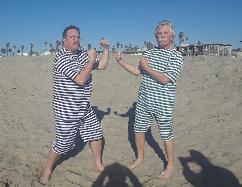 Customer photos wearing 1st Rule of Dapper Fight Club