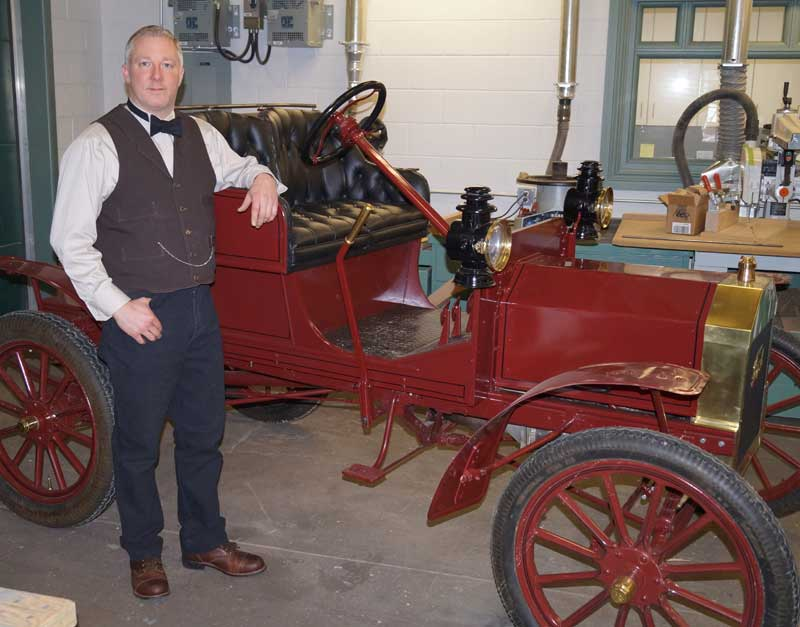 Customer photos wearing Vintage Mechanic