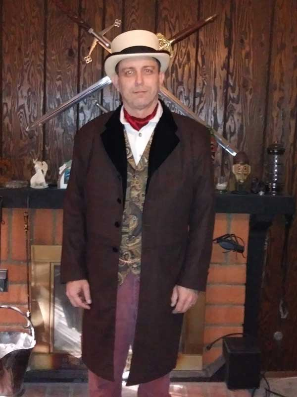 Customer photos wearing A Finely Dressed Man