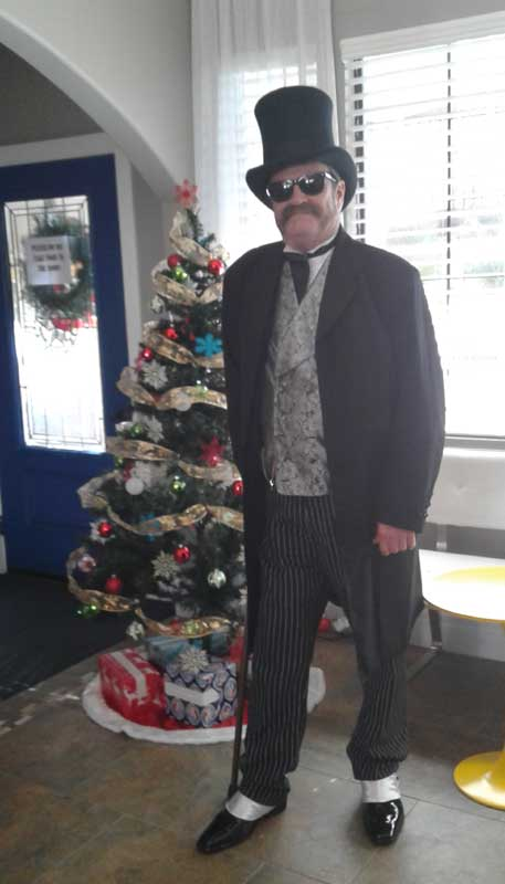 Customer photos wearing Snazzy Christmas
