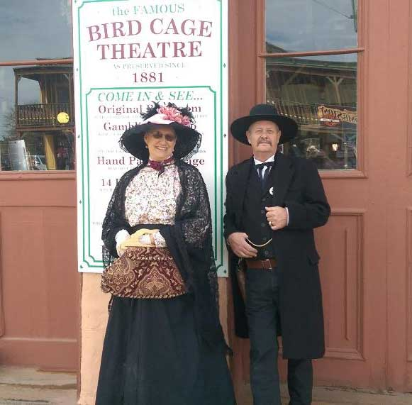 Customer photos wearing Anything Can Happen In Tombstone