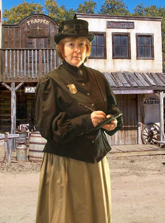 Customer photos wearing Meter Maid of the Past