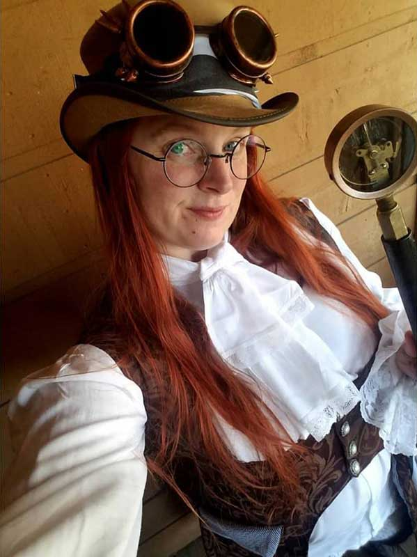 Customer photos wearing [Editors Pick] Steampunk It Up!