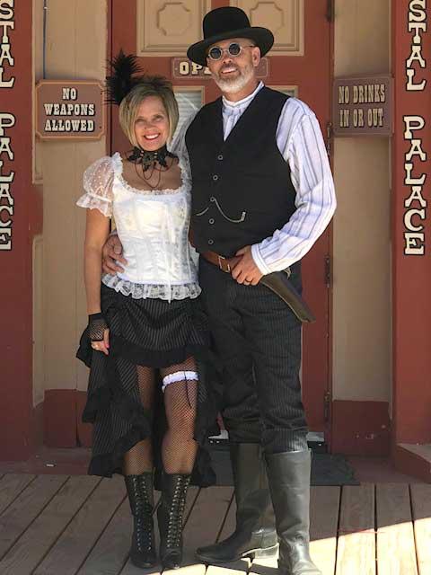 Customer photos wearing Heading to the Saloon