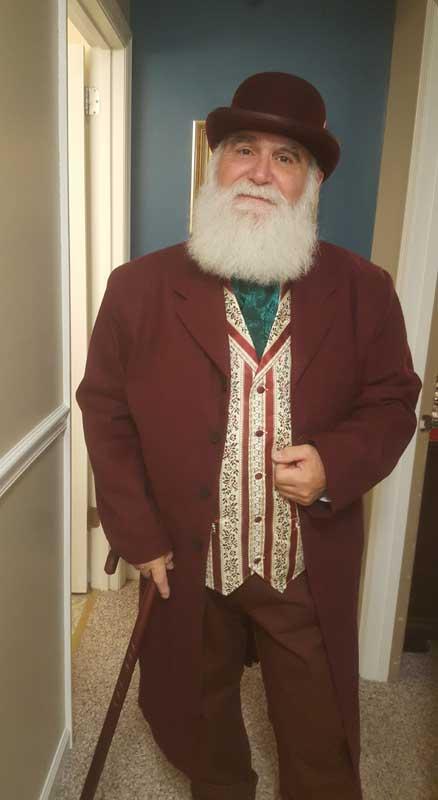 Customer photos wearing [Editors Pick] Mr. Claus