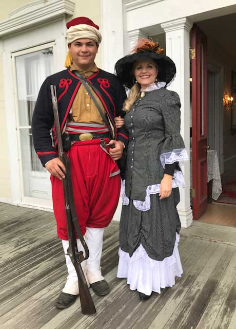 Customer photos wearing Fun and Historical