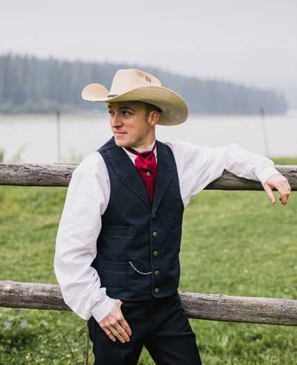 Customer photos wearing [Editors Pick] Perfect Cowboy