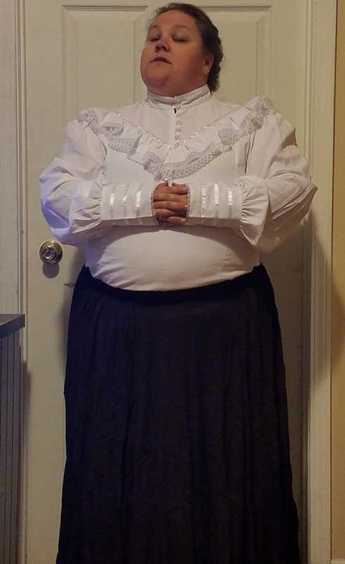Customer photos wearing A Puritan At Heart