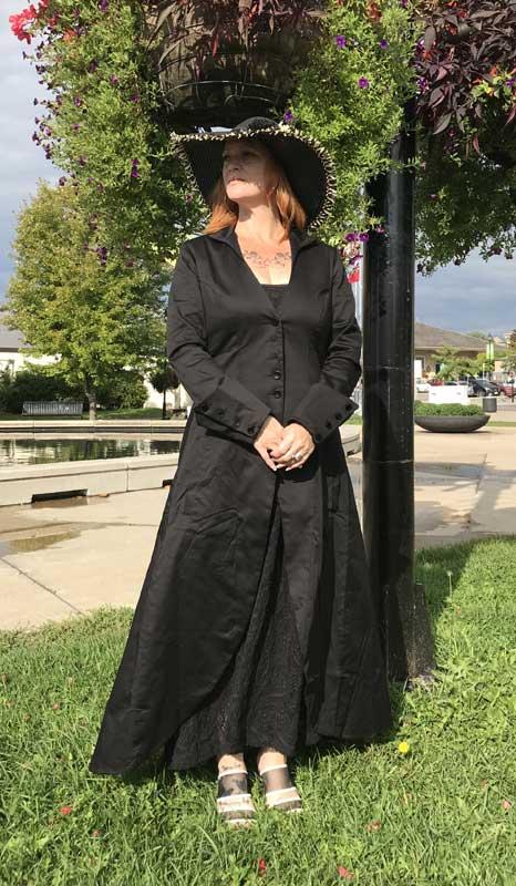 Customer photos wearing The Perfect Coat