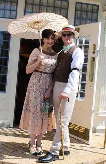 Customer photos wearing Dapper Couple