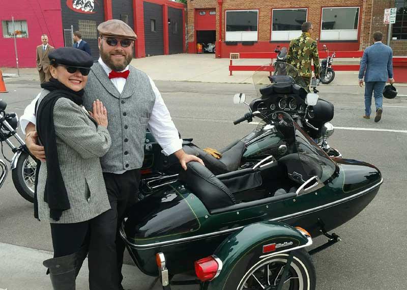 Customer photos wearing [Editors Pick] Dapper Riders