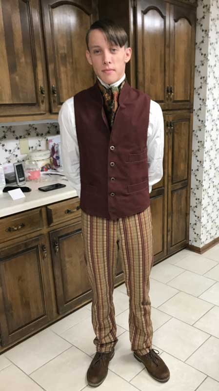 Customer photos wearing Young and Dapper