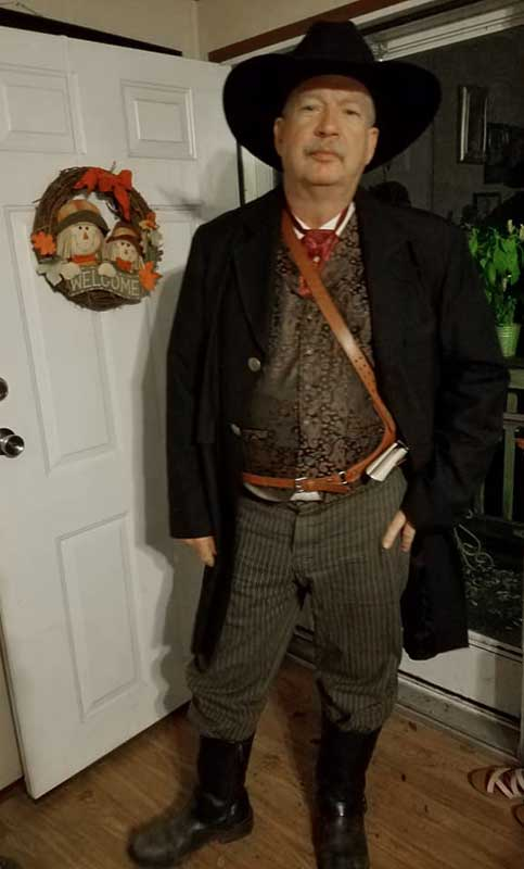 Customer photos wearing Cowboy For Hire