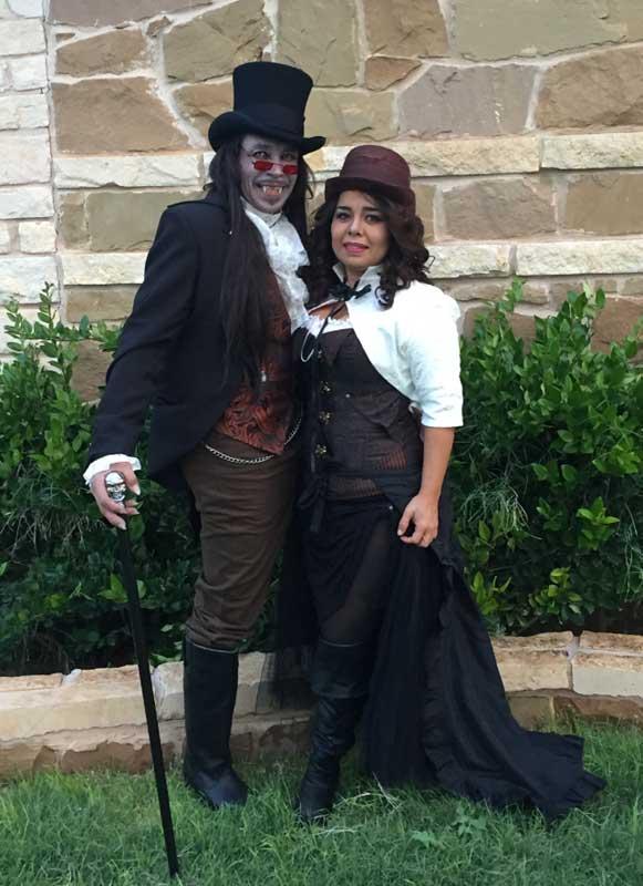 Customer photos wearing Vampire and Mistress
