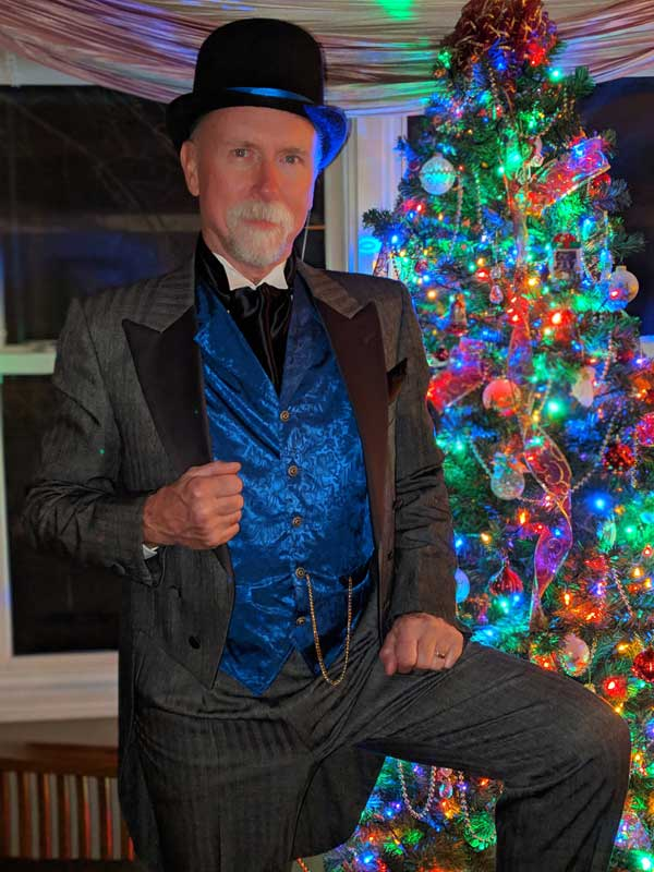 Customer photos wearing Good Deeds for the Holidays