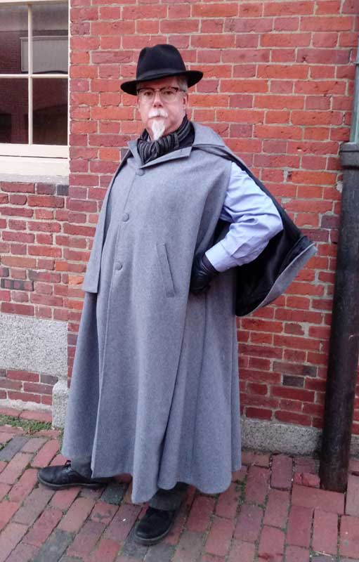 Customer photos wearing The Perfect Cape