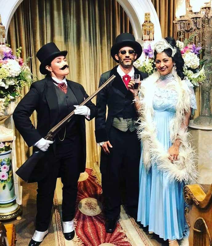 Customer photos wearing [Editors Pick] Shotgun Wedding