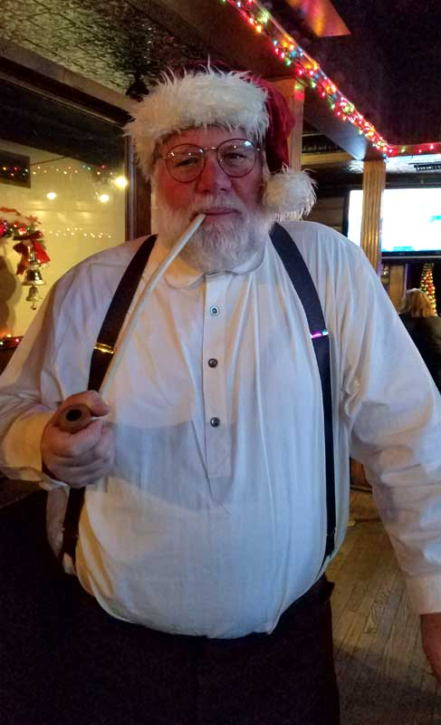 Customer photos wearing Laid Back Santa