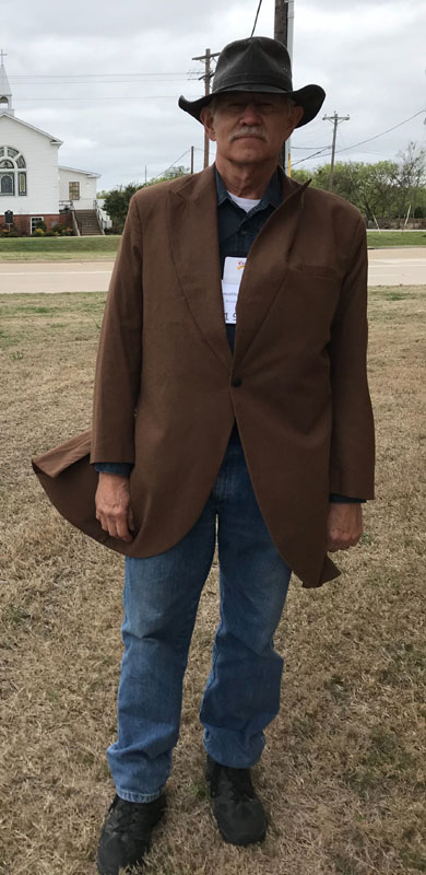 Customer photos wearing Down Home Texas