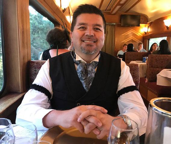 Customer photos wearing It's A Mystery Train