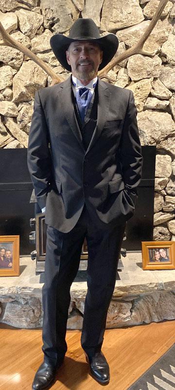 Customer photos wearing Elegant Cowboy