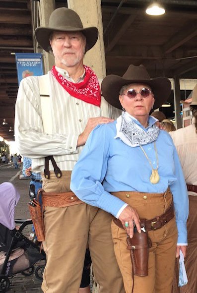 Customer photos wearing Cowboy Up