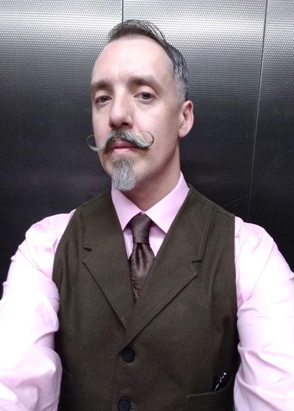 Customer photos wearing [Editors Pick] Epic Moustache