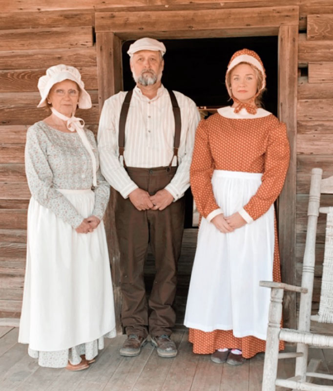 Customer photos wearing Little House in the Museum