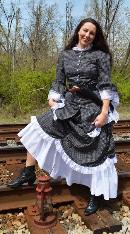Customer photos wearing Waiting on the Railroad