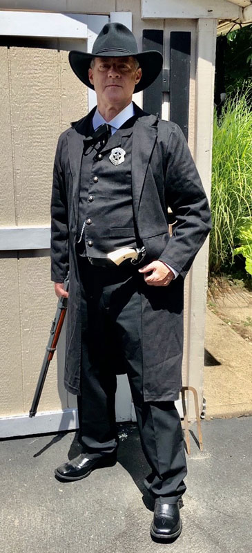 Customer photos wearing Halloween in the Old West
