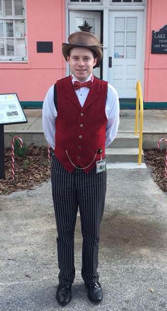 Customer photos wearing A Christmas from History