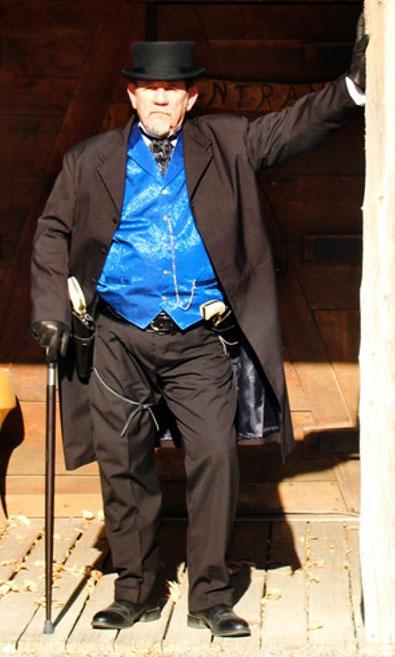Customer photos wearing Gentleman or Outlaw?