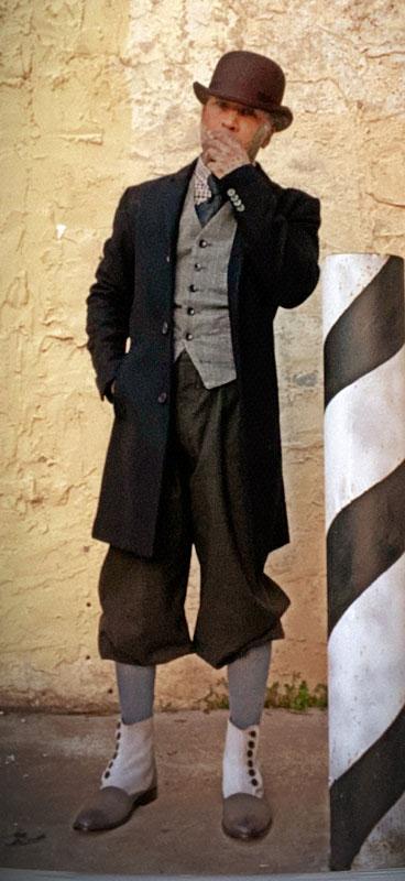 Customer photos wearing Beware the Barber of Fleet Street