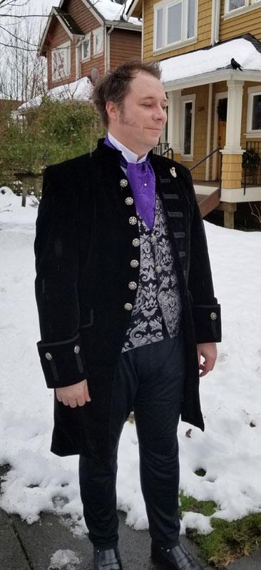 Customer photos wearing London High Society