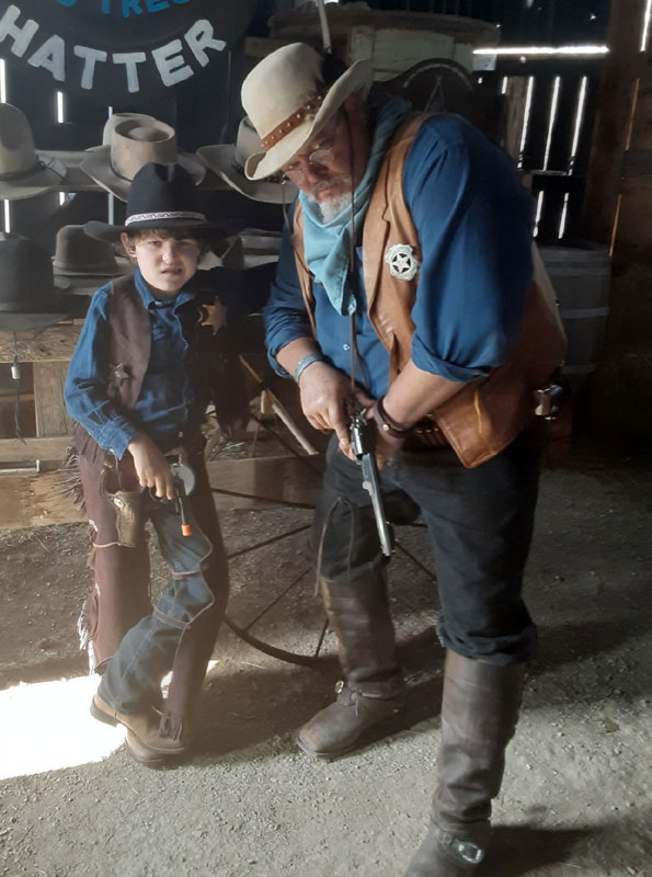 Customer photos wearing Youngest Deputy