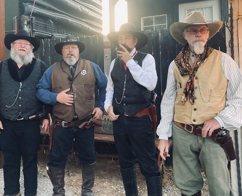 Customer photos wearing Rowdy Wedding' Folk