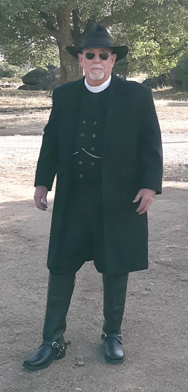 Customer photos wearing Pastor of the Old West