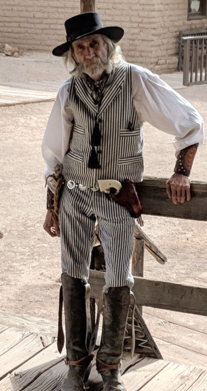 Customer photos wearing Part of the Old West