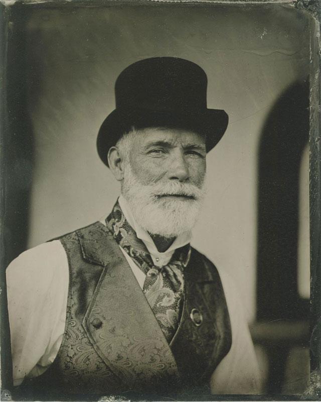 Customer photos wearing [Editors Pick] Tintype of a Future Man
