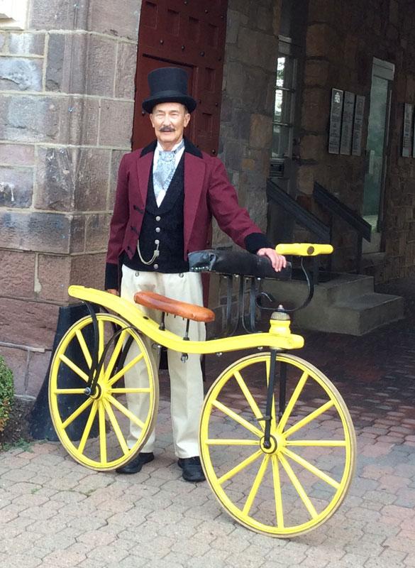 Customer photos wearing Hobby Horse Bicycle