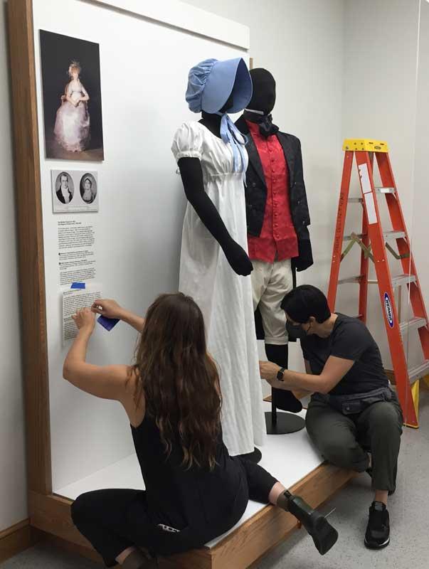 Customer photos wearing Exhibit Worthy