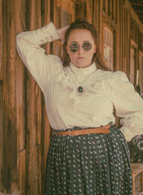 Customer photos wearing Time Travelling Pioneer